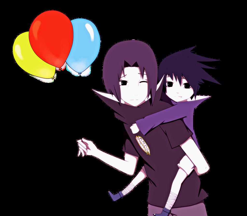 Itachi and Sasuke  Happy Bday  by Reochii on