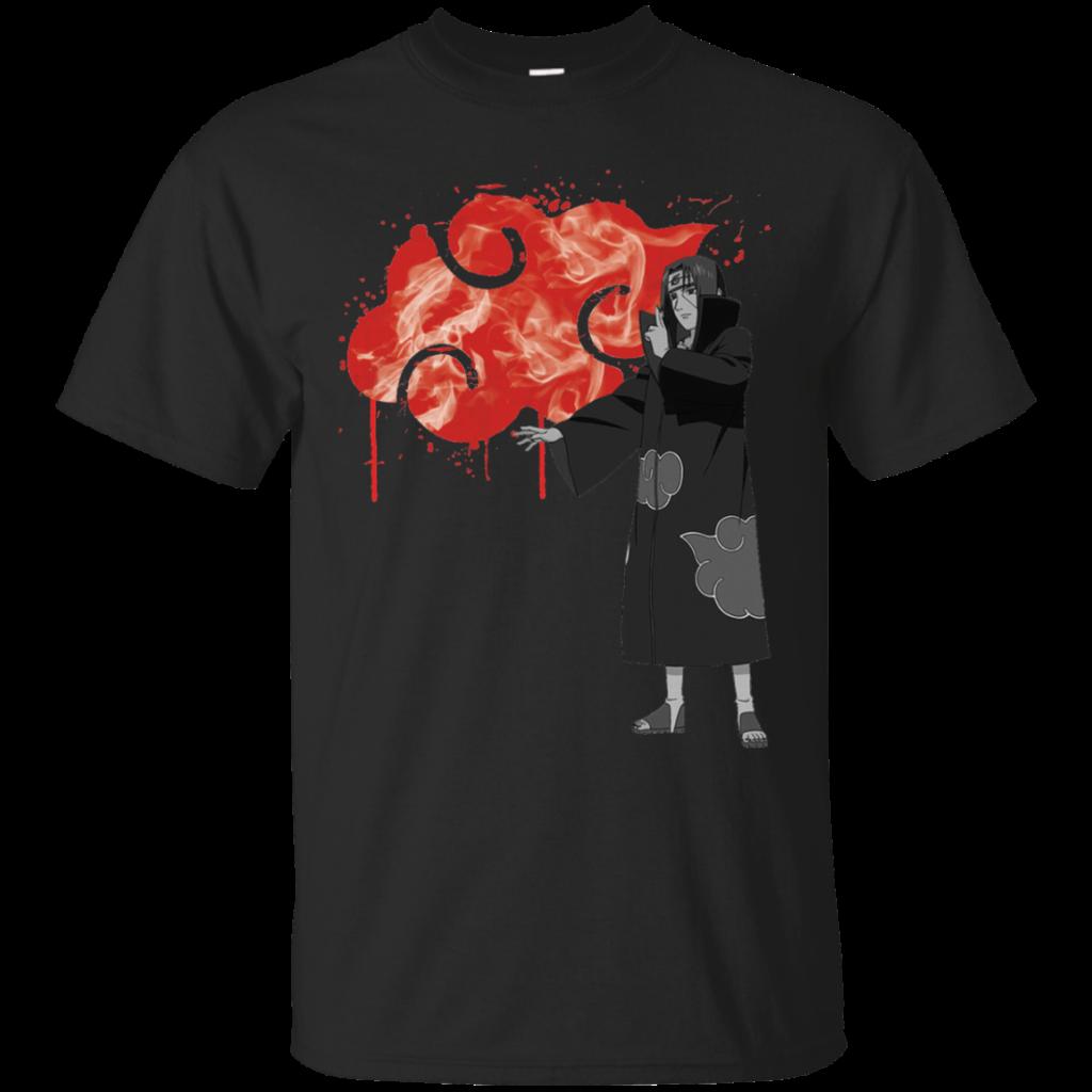 Naruto  ITACHI AKATSUKI T Shirt  Hoodie  AcTees Store