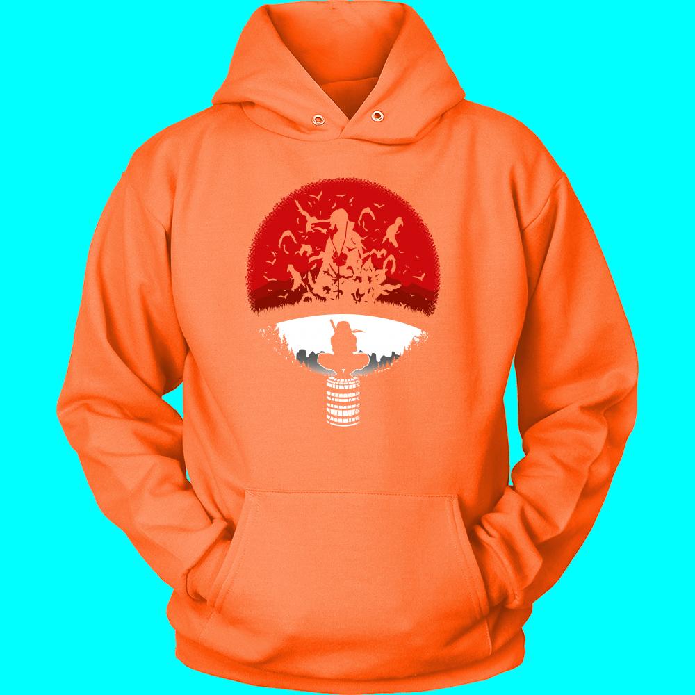 Naruto  Itachi Symbol  Unisex Hoodie Shirt  TL00927HO