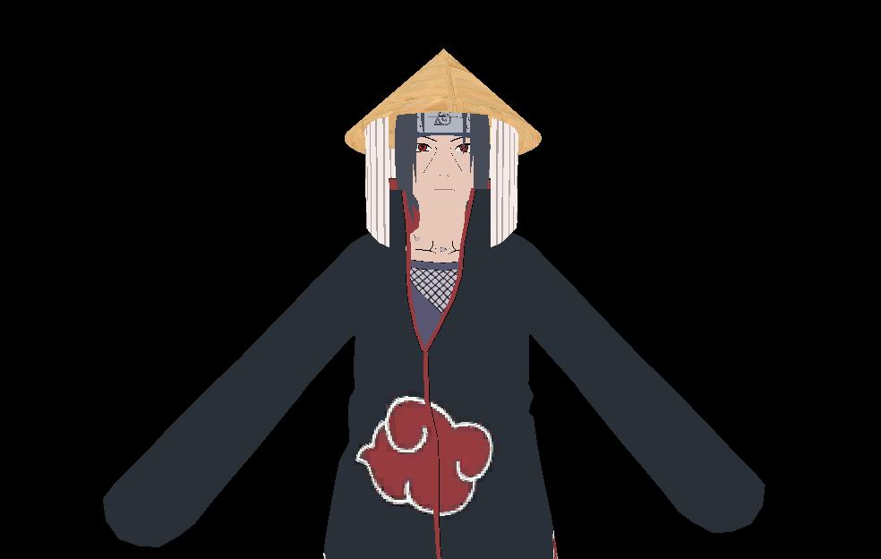 Akatsuki Itachi with Hat