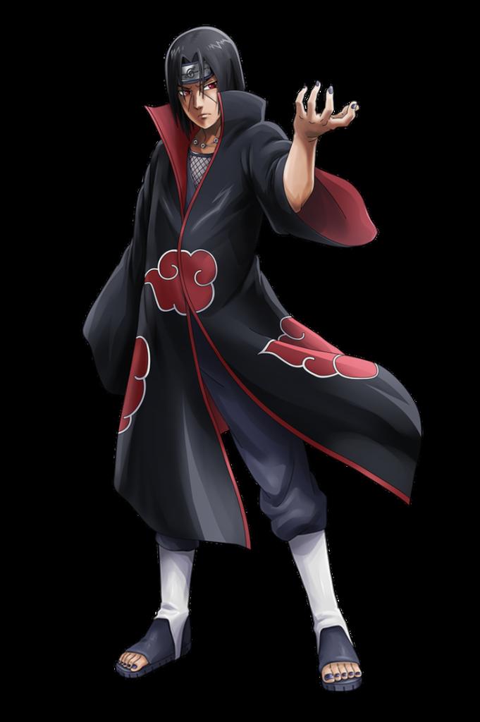 Itachi Uchiha Akatsuki render NxB Ninja Voltage by