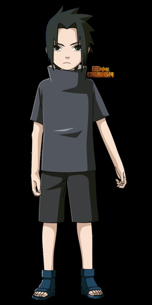 Naruto ShippudenSasuke Uchiha Childhood by iEnniDESIGN
