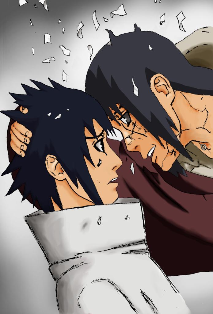 Sasukeitachi  Coloring I will always love you by