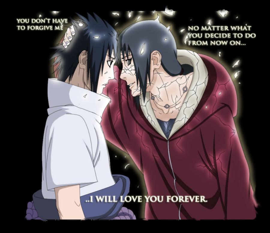 I will love you forever  Itachi x Sasuke by