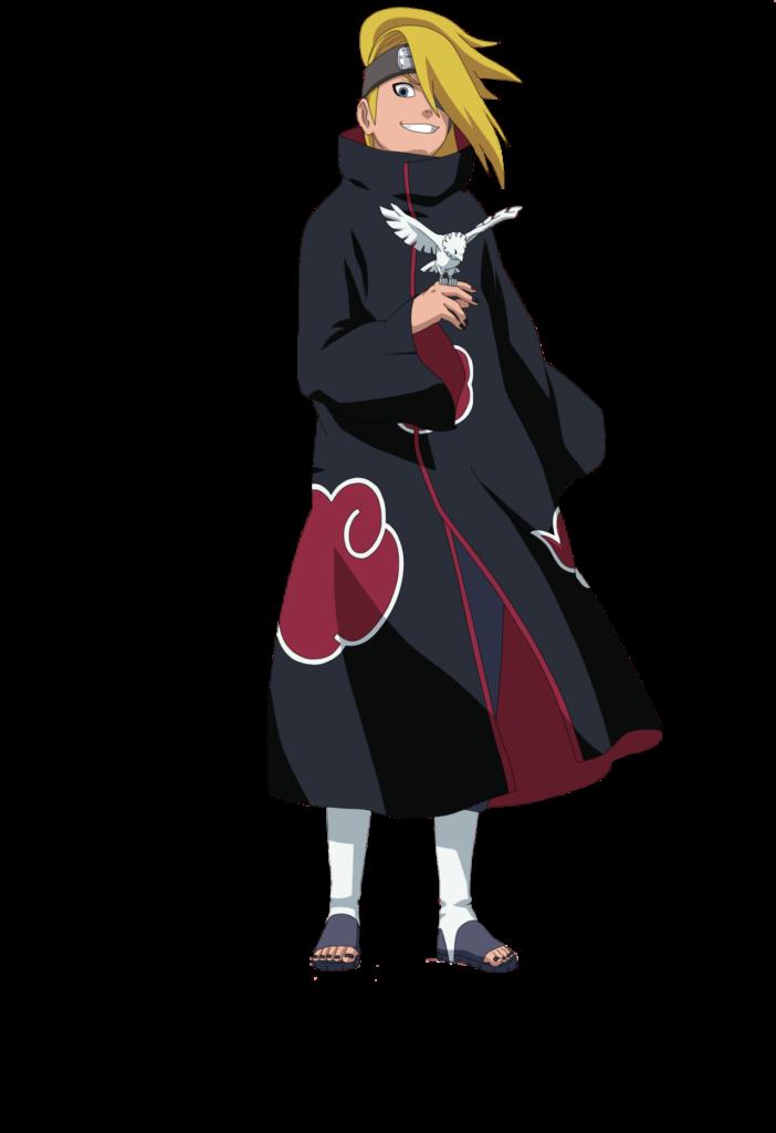 Deidara Tenue Akatsuki   Naruto fofo Naruto uzumaki