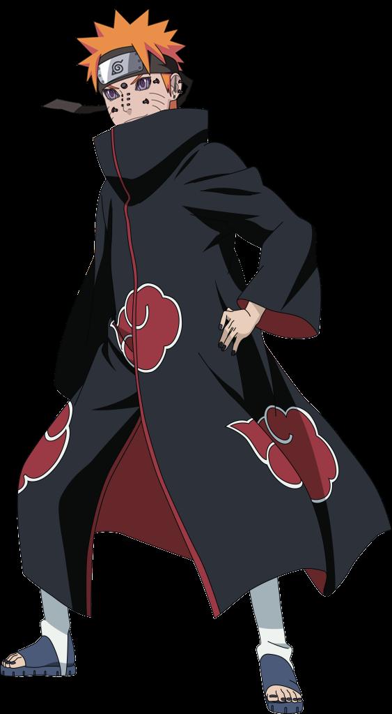 Pain Jinchuuriki Path Naruto Shippuden by ZerJer97 on