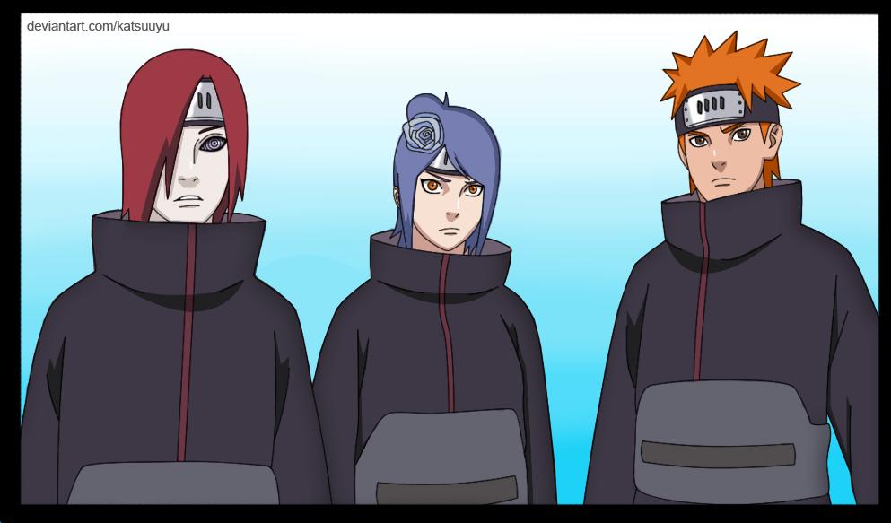 The best friends  Shinobies of Amegakure by Uendy  Best