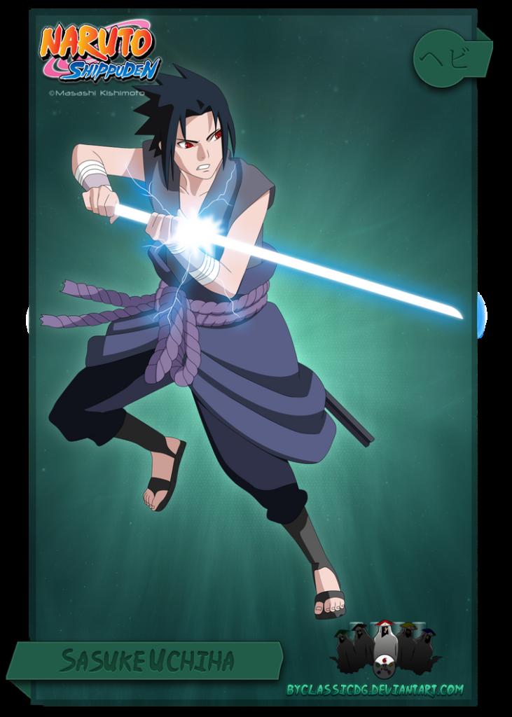 Sasuke Uchiha by byClassicDG on DeviantArt