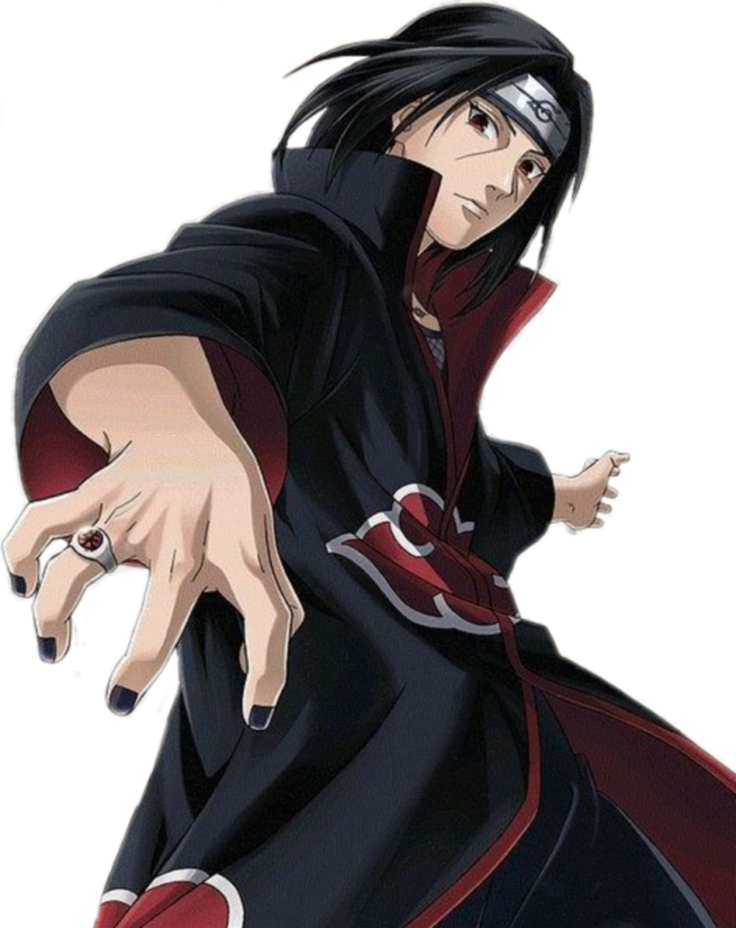 Naruto Shippuden Akatsuki Uchiha Itachi Sharingan