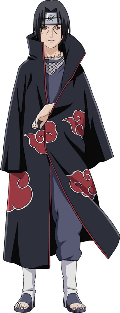 Why do you think Itachi always kept his arms inside his