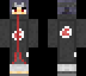 Akatsuki Itachi Uchiha  Minecraft Skin