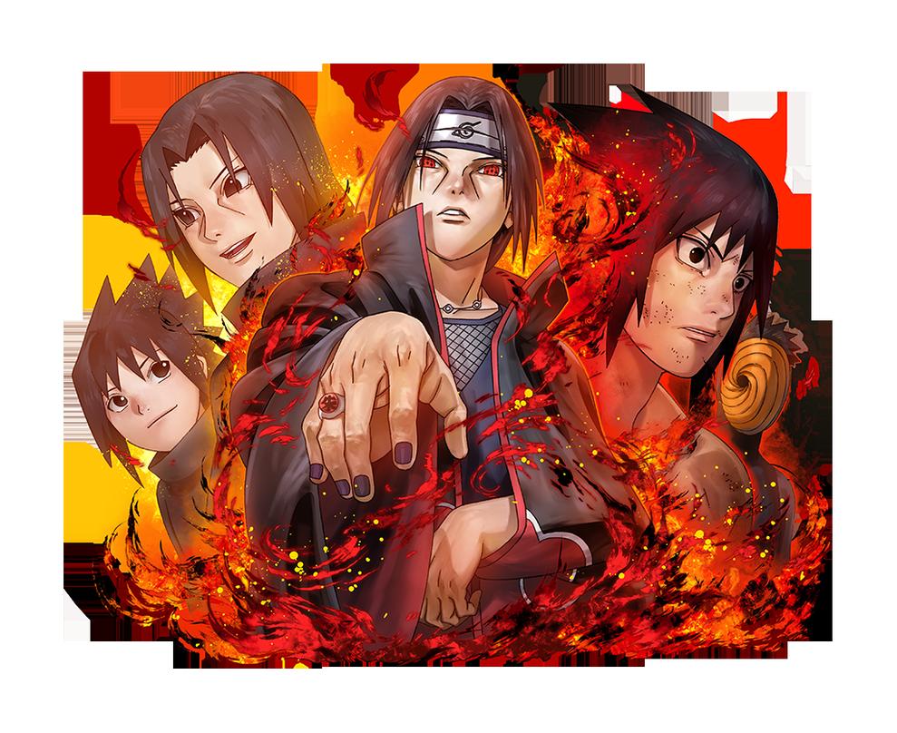 Itachi Uchiha render 2 Ultimate Ninja Blazing by