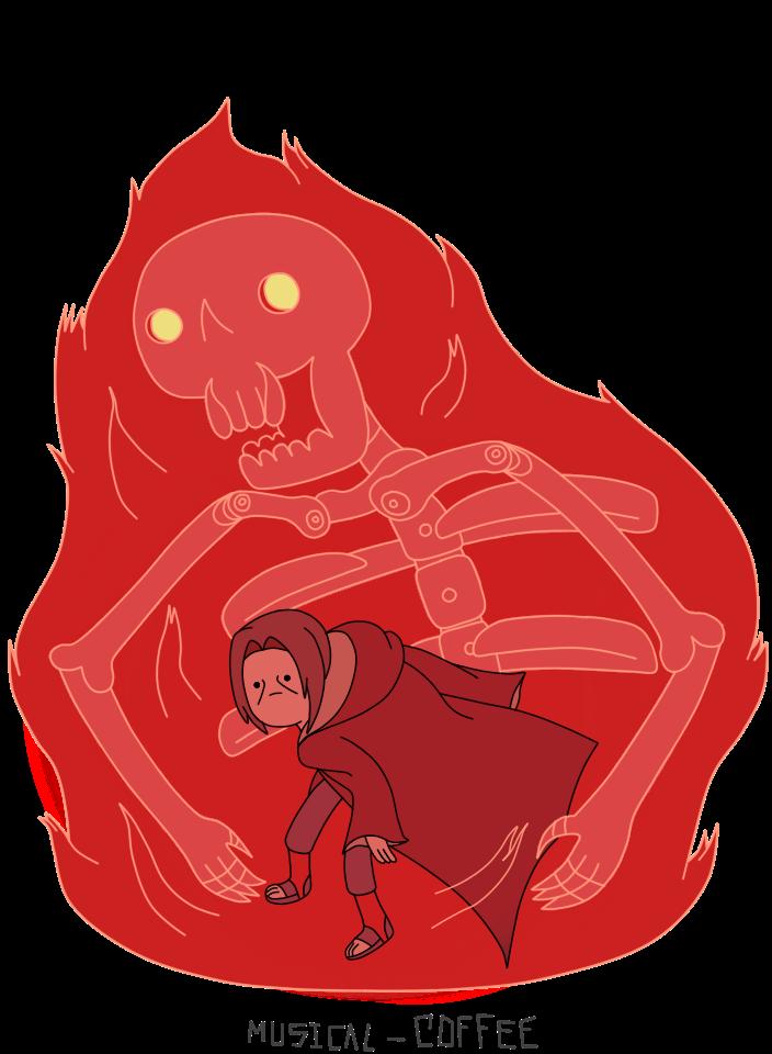 Itachi Susanoo  Adventure Time style  Anime naruto