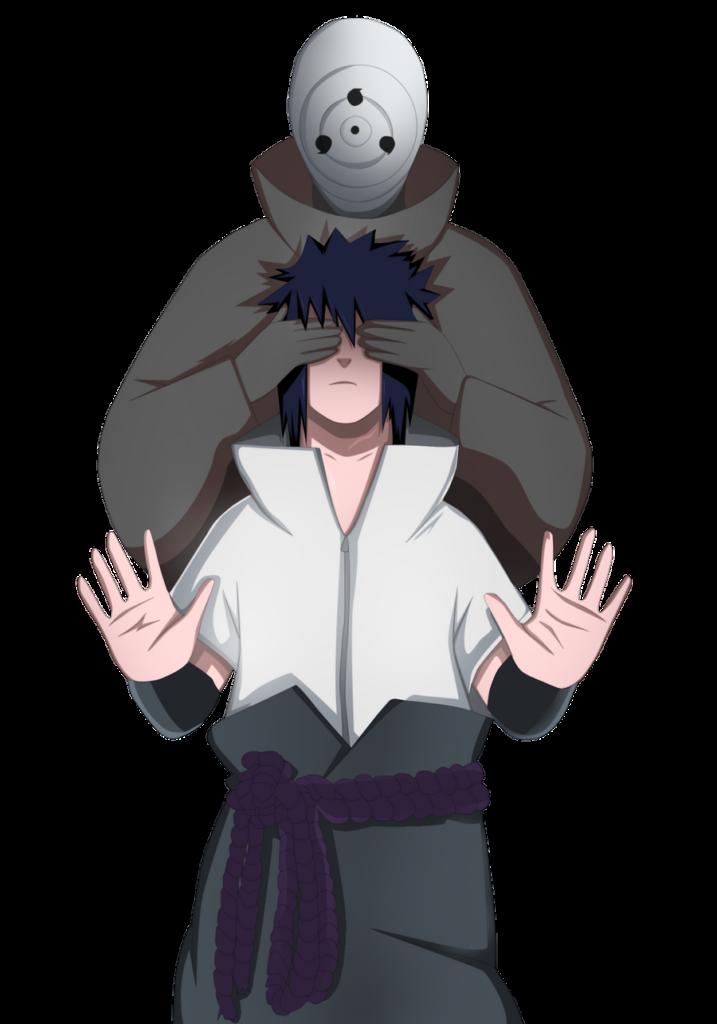 Madara and Sasuke render by Madnesssss on DeviantArt