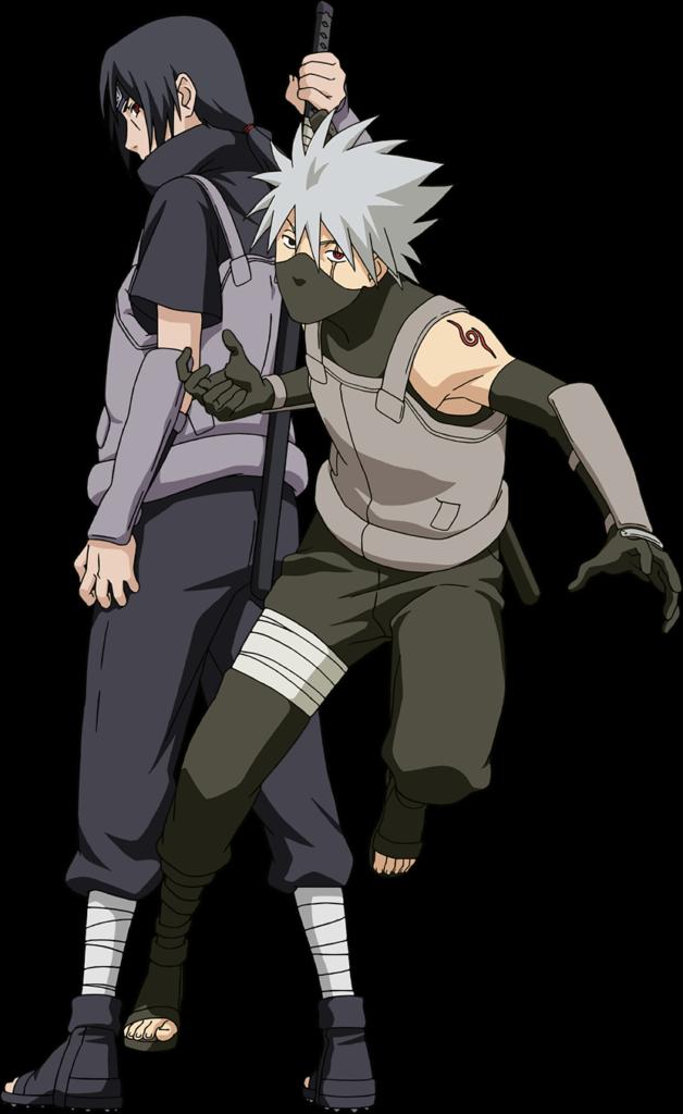 Anbu Kakashi  Itachi render Naruto Mobile by