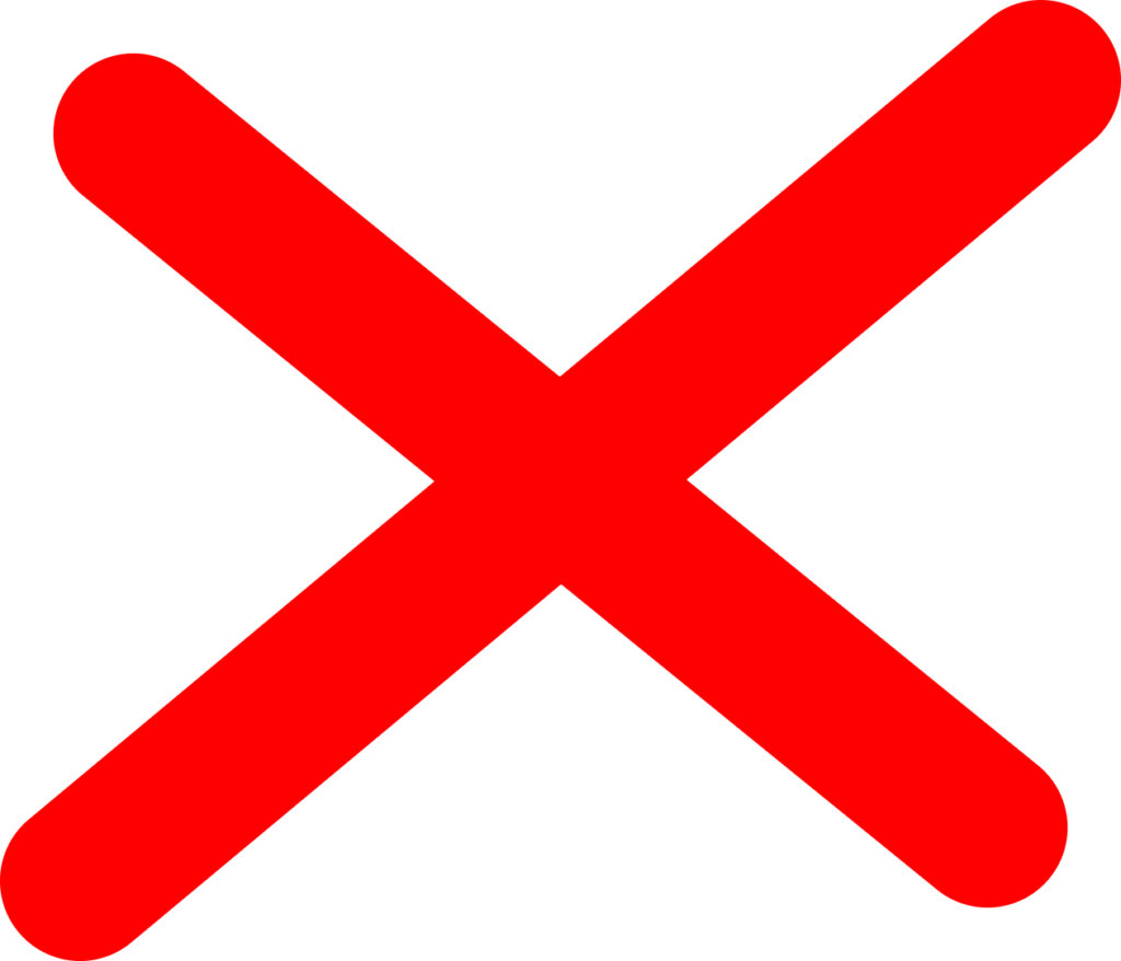 Red x icon transparent background 8  Background Check All