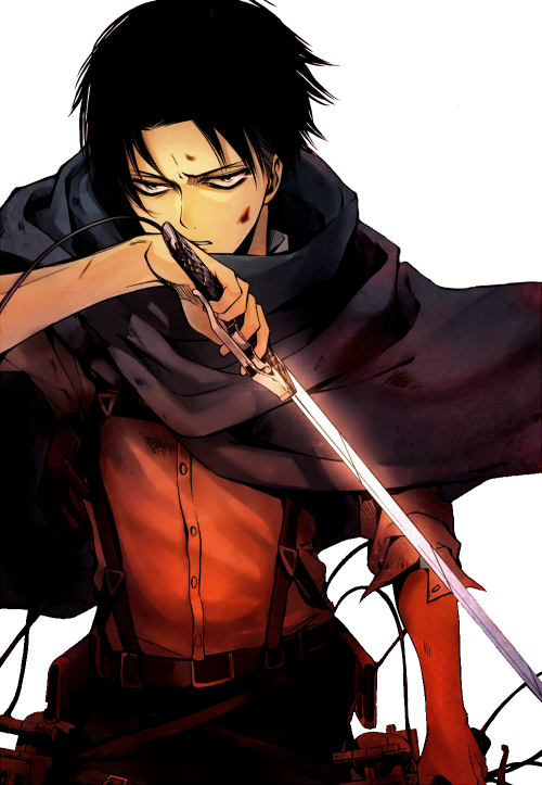 Levi x MuteReader More Than Words by rainydayenthusiast