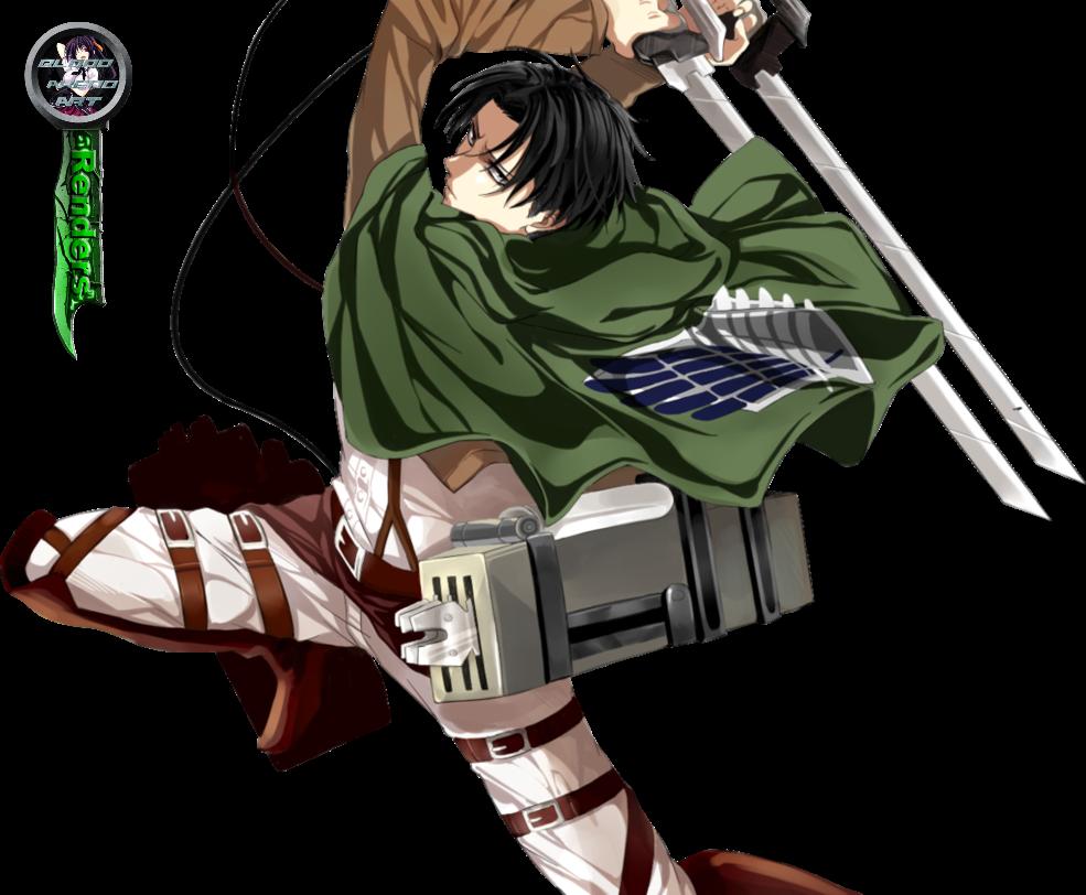 Shingeki no KyojinAttack on Titan Levi Render by