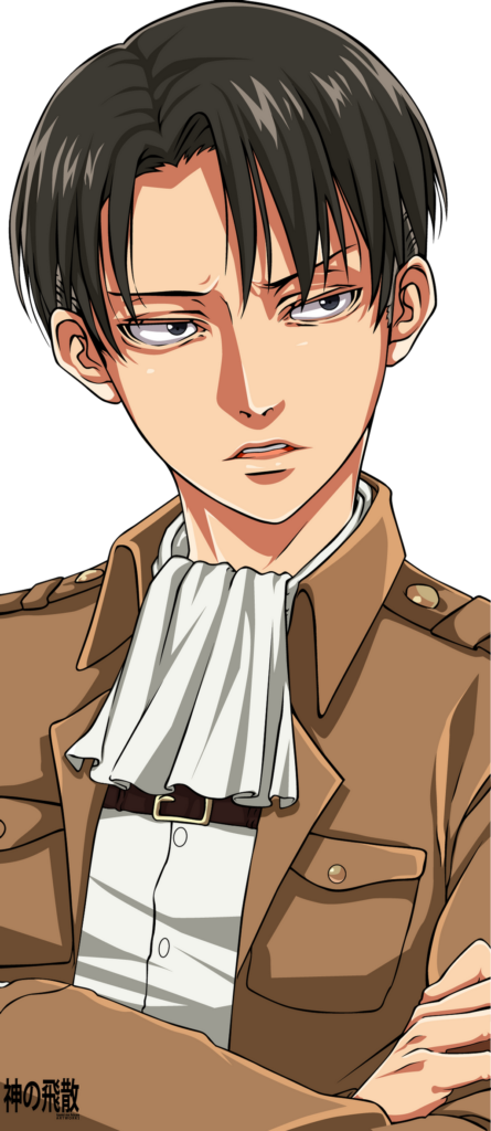 Attack On Titan  Levi Ackerman Render Pack by