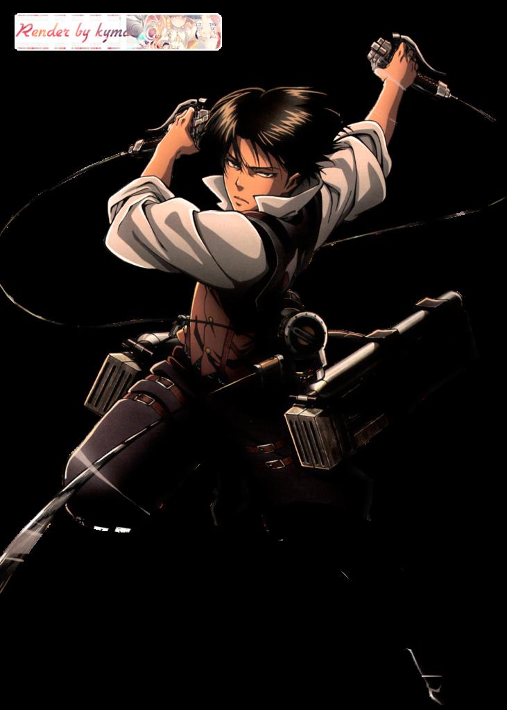 Render Shingeki no Kyojin  Levi