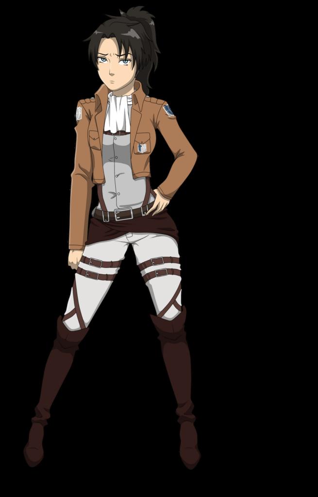 Female Levi by TwoEye on DeviantArt