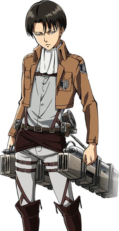 HWYB Levi Ackerman from Attack on Titan  WhatWouldYouBuild