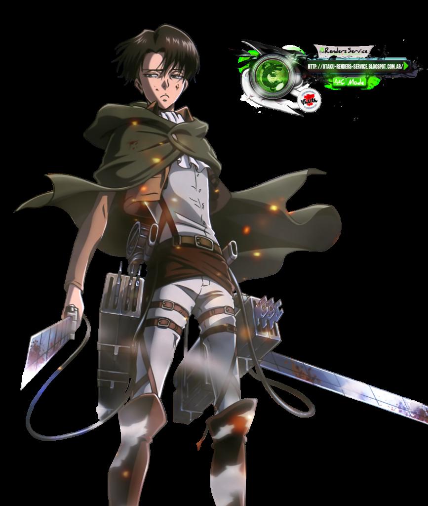 Shingeki no KyojinLevi Epic Battle HD Render  ORS Anime