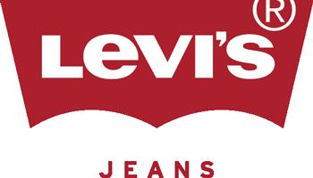 Good guys wear Levis  Clothing brand Red logo design Levi