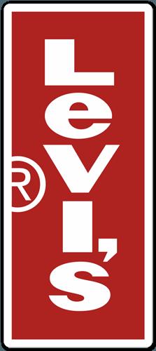 Sticker Levis Vertical  MuralDecalcom