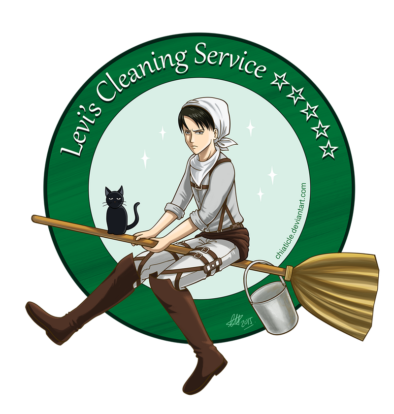AOT Levis Cleaning Service by Chiaticle on DeviantArt