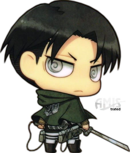 SNK  Corporal Levi  Chibi by Amistrated on DeviantArt