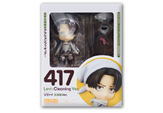 Nendoroid Levi Cleaning Ver Nendoroid No417 from Attack