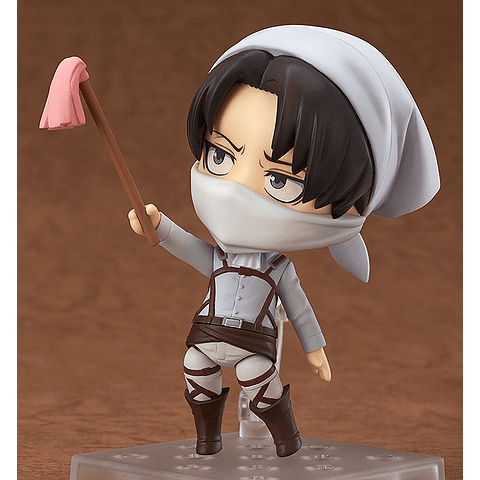 Nendoroid Levi Cleaning Ver Edición Limitada