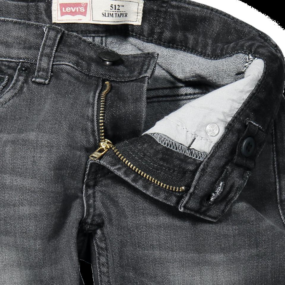 Levis Kids  512 Slim Fit jeans  boy  BLACK  Black