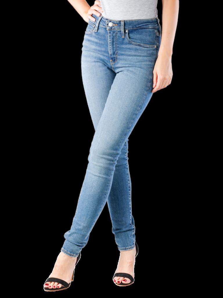 Levis 721 Jeans High Rise Skinny los angeles sun  Gratis