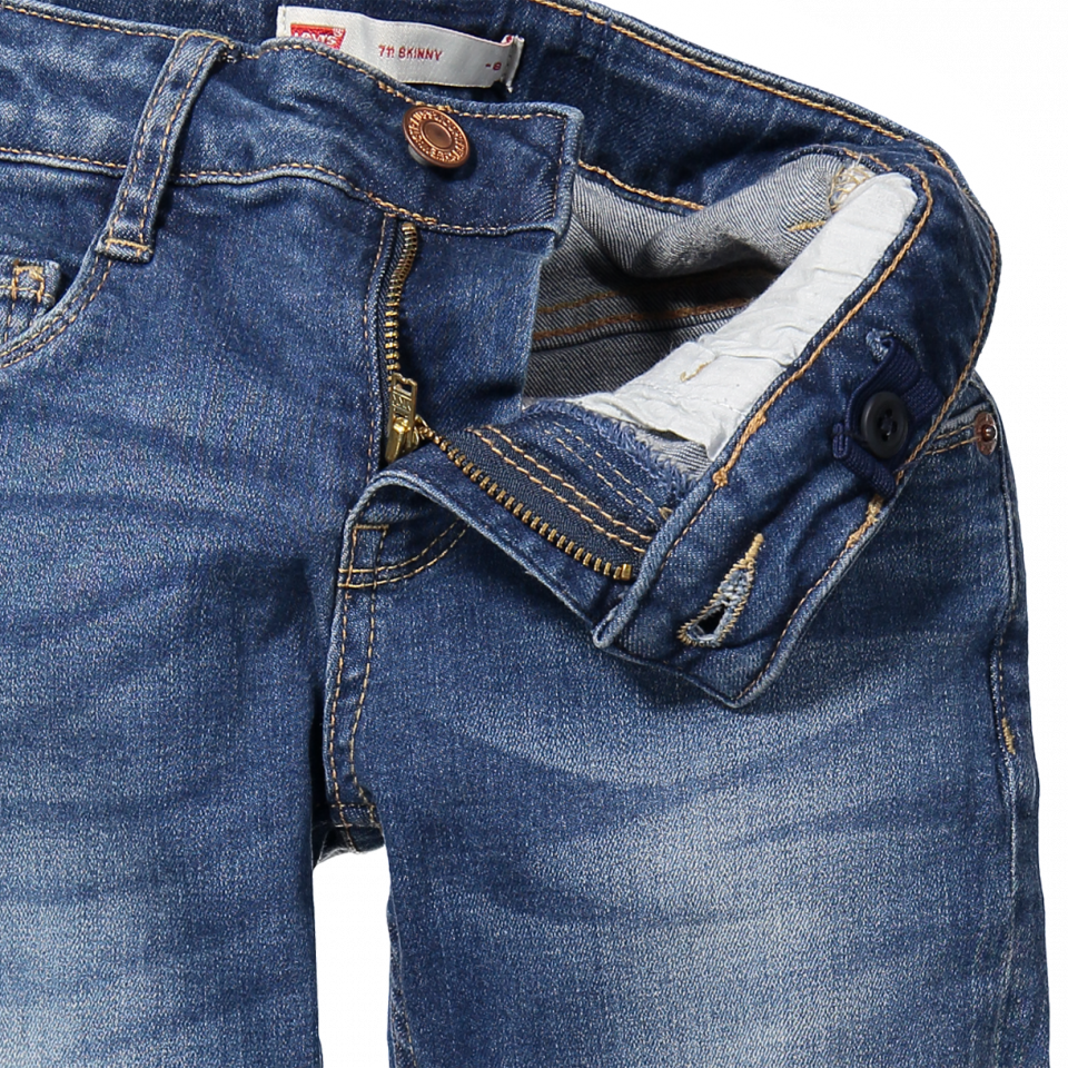 Levis Kids  711 Skinny jeans  girl  INDIGO  Blue