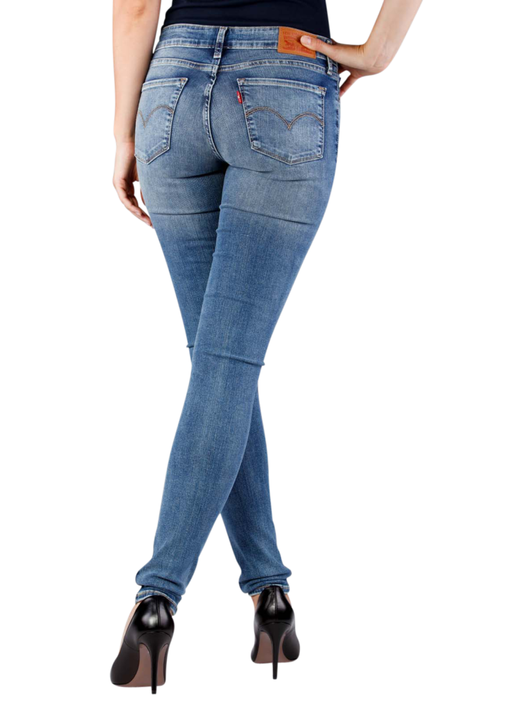 Levis 711 Jeans Skinny antiqued  free shipping  JEANSCH
