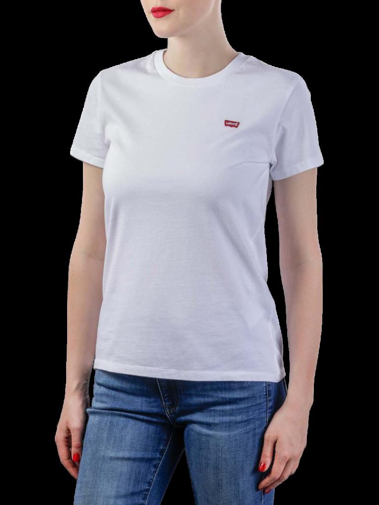 Levis Perfect Tee Shirt white cn100xx  free shipping