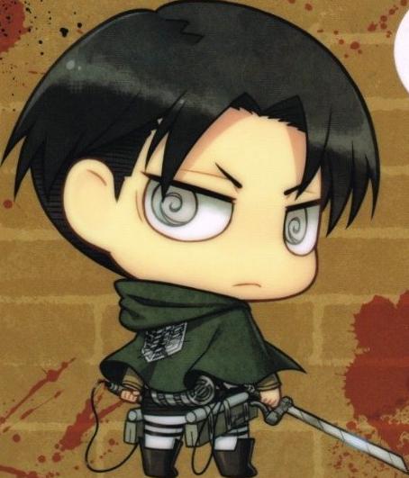 Shingeki no Kyojin Levi Chibi by bloomsama  attack on