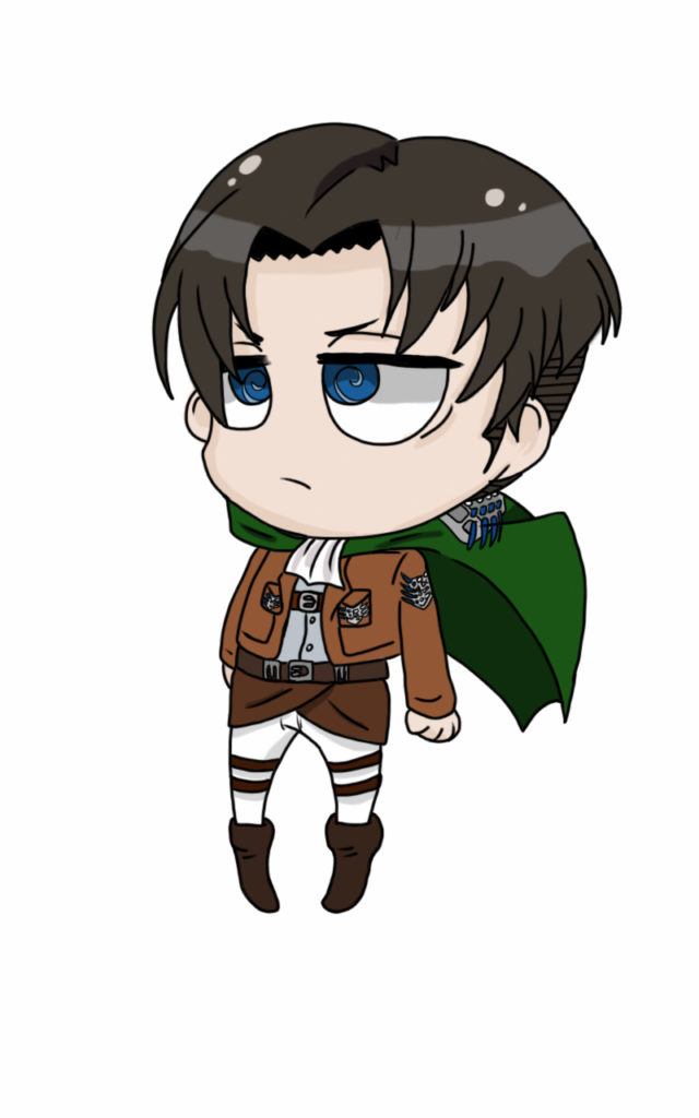 Chibi Levi from AOT by chibianime36 on DeviantArt