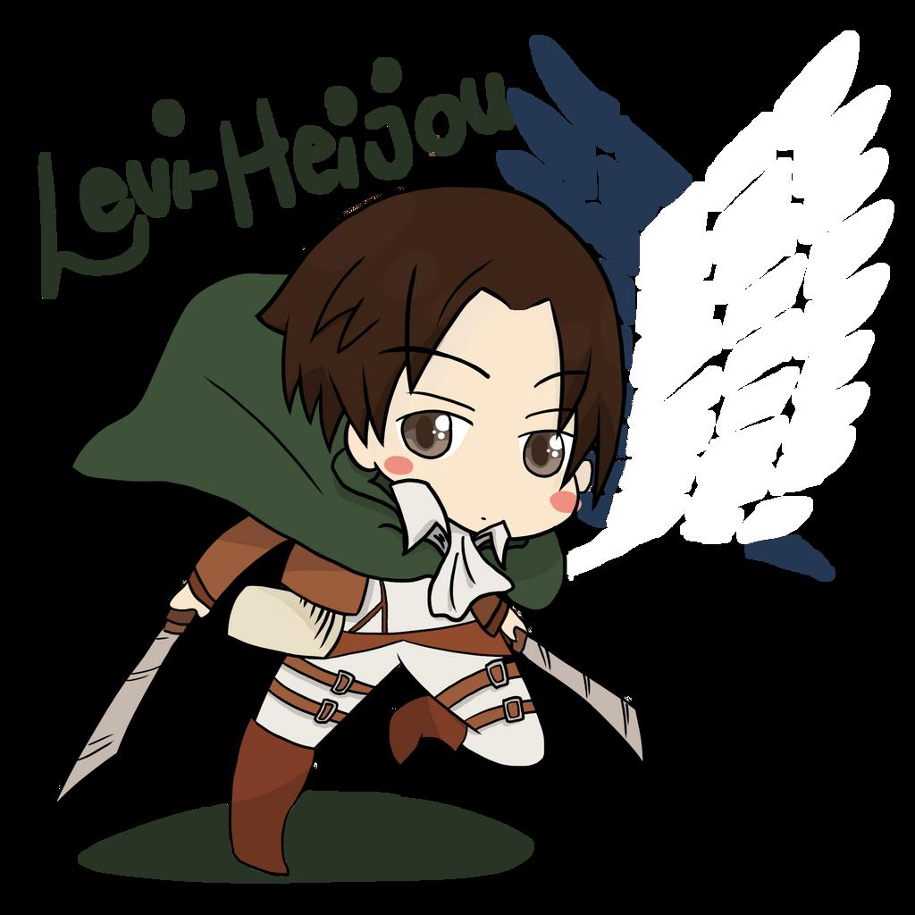 Shingeki No Kyojin  Chibi Levi Heijou by