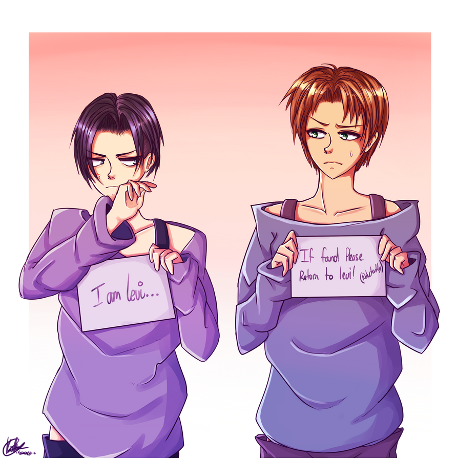 Levi and Eren by LustyPieLita on DeviantArt