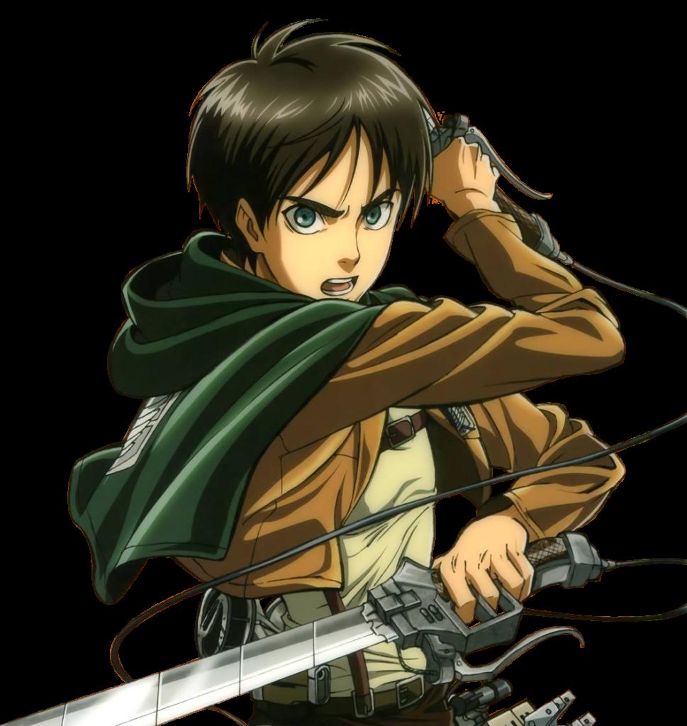 Eren Jaeger Render by yusunnie on DeviantArt  Attack on