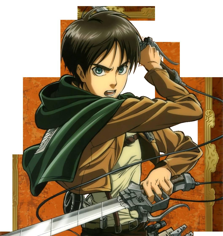 Eren Jaeger Render by yusunnie on DeviantArt   Attack on ... - Levi Eren