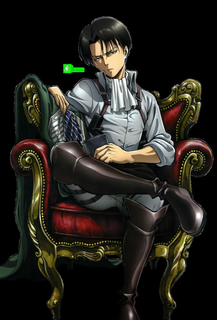 Levi Shingeki no Kyojin  HD Render by azizkeybackspace