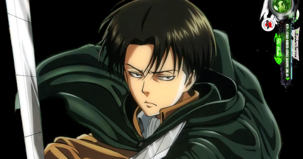 Shingeki no KyojinLevi Rivaille Kakoiii Attack HD Render
