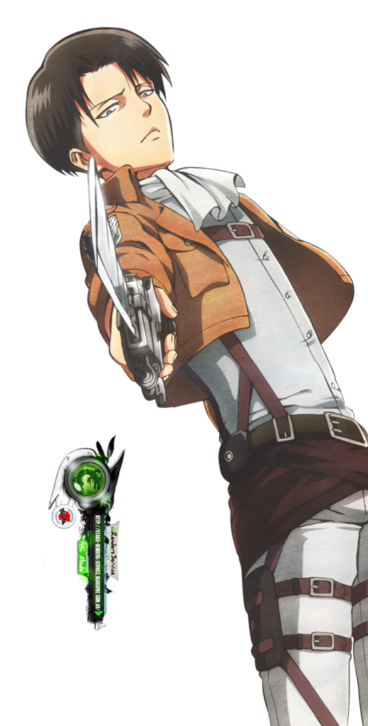 Shingeki no KyojinLevi Rivaille Blade Kakoii Render  ORS