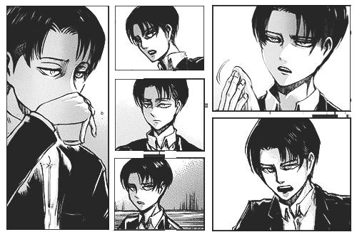 Attack On Titan Levi Ackerman Manga