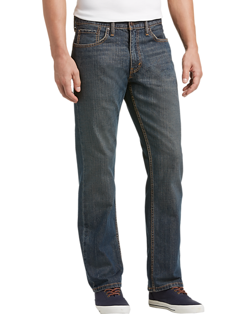 Levis 559 Dark Wash Relaxed Fit Jeans  Mens Relaxed