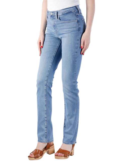 Levis 724 High Rise Jeans Straight rio chill  Gratis